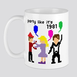 party like it's 1981 - Mug