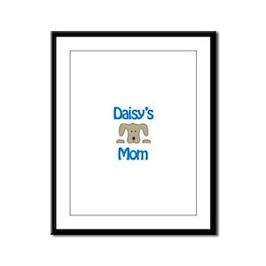 Daisy's Mom Framed Panel Print