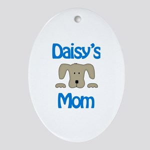 Daisy's Mom Oval Ornament
