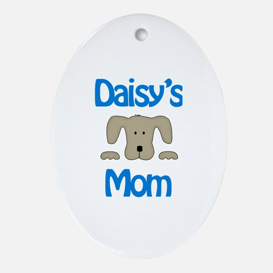 Daisy's Mom Oval Ornament