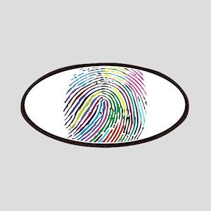 Colorful Fingerprint Patch