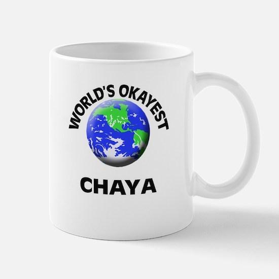 World's Okayest Chaya Mugs