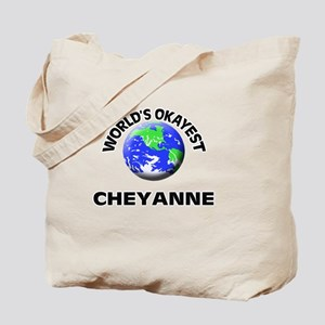 World's Okayest Cheyanne Tote Bag