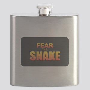 Fear the Snake Flask