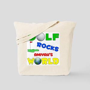 Golf Rocks Amiyah's World - Tote Bag