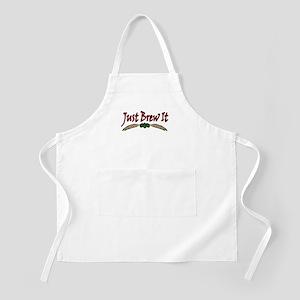 Just Brew It BBQ Apron