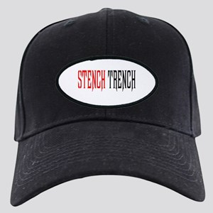 Stench Trench buttons & t-shi Black Cap