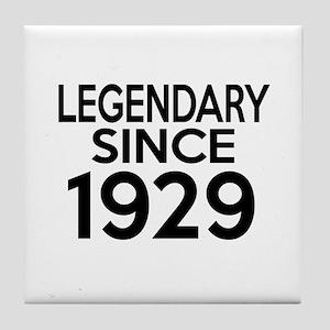 Legendary Since 1929 Tile Coaster