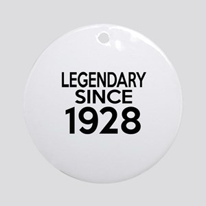 Legendary Since 1928 Round Ornament