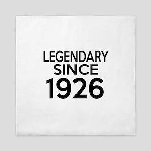 Legendary Since 1926 Queen Duvet