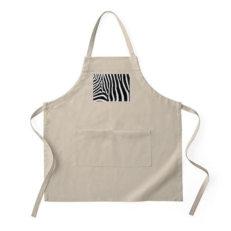 Helaine's Zebra Pattern Apron