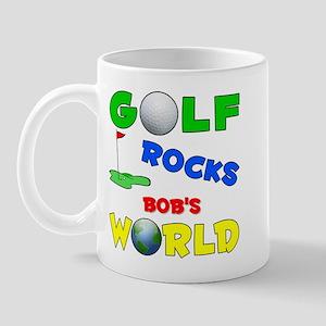 Golf Rocks Bob's World - Mug