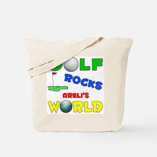 Golf Rocks Areli's World - Tote Bag