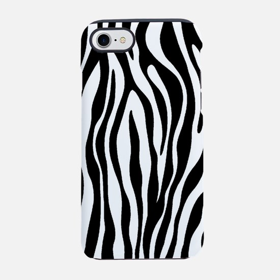 Zebra Print iPhone 8/7 Tough Case