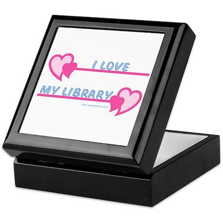 I Love My Library-Pastels Keepsake Box