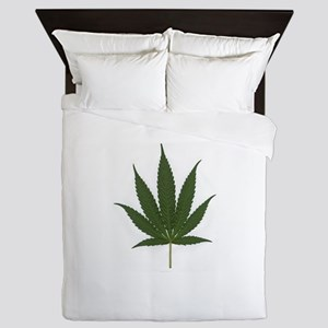 Marijuana Leaf Queen Duvet