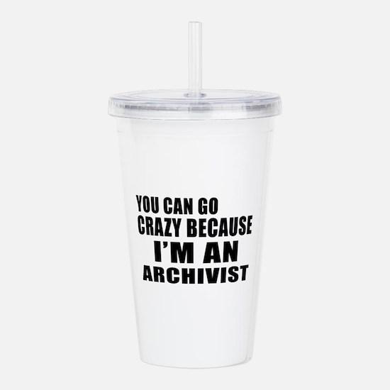 I Am Archivist Acrylic Double-wall Tumbler