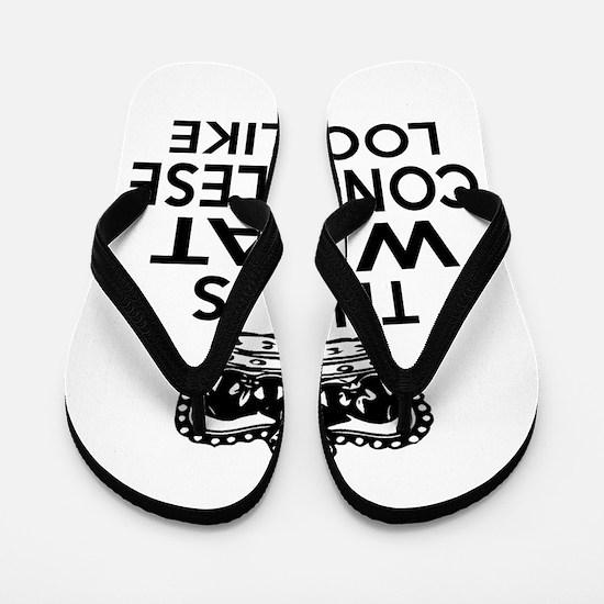 I Am Congolese Flip Flops
