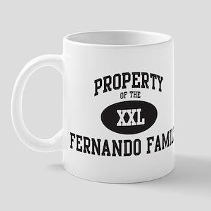 Property of Fernando Family Mug