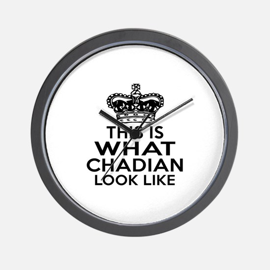 I Am Chadian Wall Clock