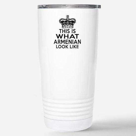 Armenian Look Like Desi Stainless Steel Travel Mug