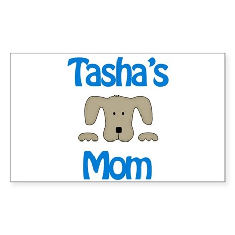 Tasha's Mom Rectangle Sticker