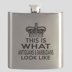 Antiguans Look Look Like Designs Flask