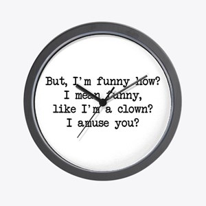 Funny How Wall Clock