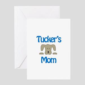 Tucker's Mom Greeting Card