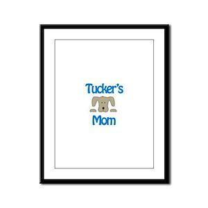 Tucker's Mom Framed Panel Print