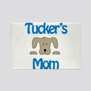Tucker's Mom Rectangle Magnet