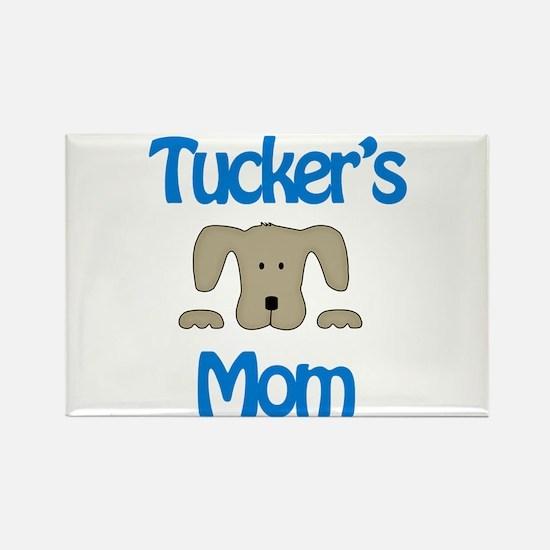 Tucker's Mom Rectangle Magnet