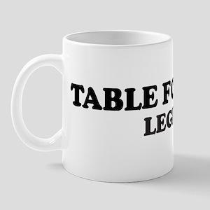 TABLE FOOTBALL Legend Mug