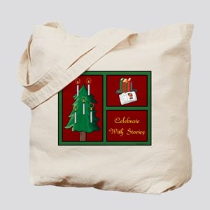 Celebrate w Stories Tote Bag