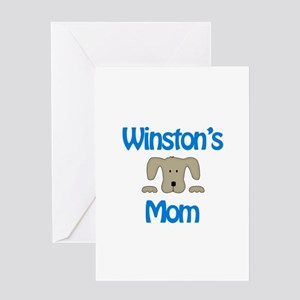 Winston's Mom Greeting Card