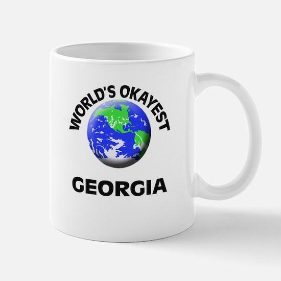 World's Okayest Georgia Mugs