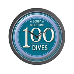 https://i3.cpcache.com/product/189562610/100_dives_milestone_wall_clock.jpg?side=Front&height=240&width=240