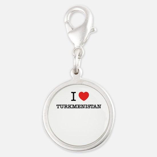 I Love TURKMENISTAN Charms