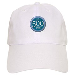 https://i3.cpcache.com/product/189565537/500_dives_milestone_baseball_cap.jpg?side=Front&color=White&height=240&width=240