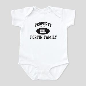 Property of Fortin Family Infant Bodysuit