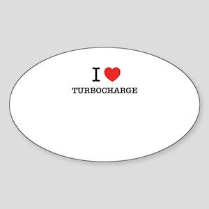 I Love TURBOCHARGE Sticker