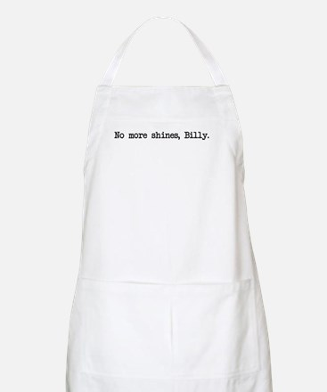 No More Shines Billy BBQ Apron