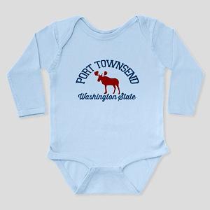 Port Townsend. Long Sleeve Infant Bodysuit