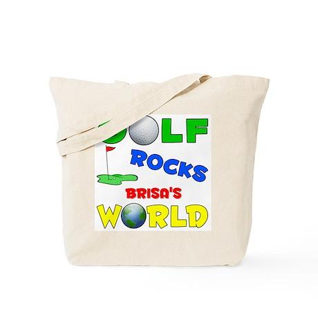 Golf Rocks Brisa's World - Tote Bag