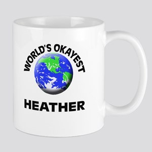 World's Okayest Heather Mugs