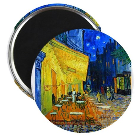 Van Gogh - Cafe Terrace Magnets