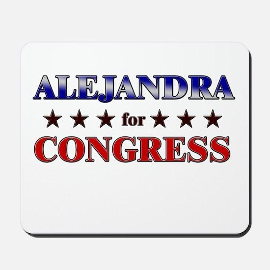 ALEJANDRA for congress Mousepad