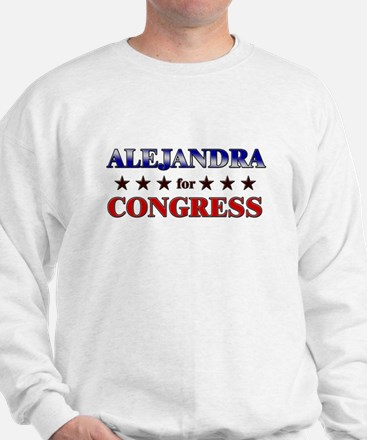 ALEJANDRA for congress Jumper