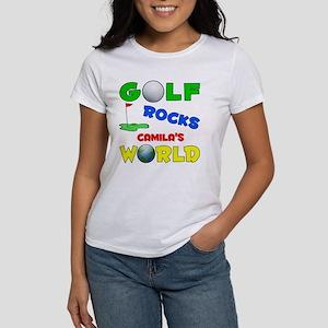 Golf Rocks Camila's World - Women's T-Shirt