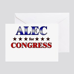 ALEC for congress Greeting Card